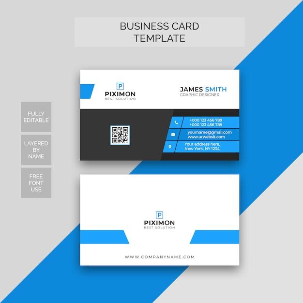 Carte De Visite Professionnelle PSD Premium