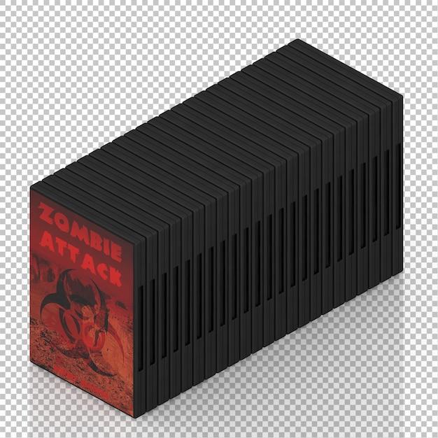 Cd isométrique de dvd PSD Premium