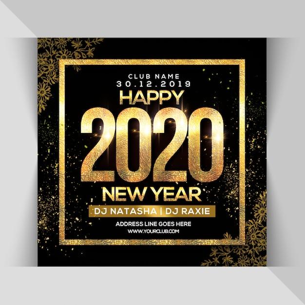 Circulaire de la bonne année 2020 PSD Premium