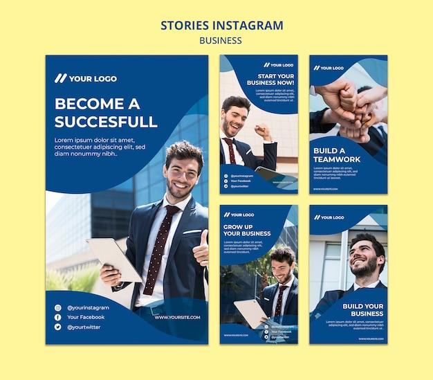 Collection D'histoires Instagram Psd gratuit