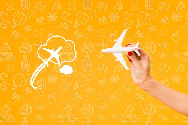 Concept De Maquette D'été Psd gratuit