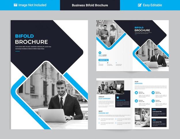 Conception De Brochure D'entreprise PSD Premium