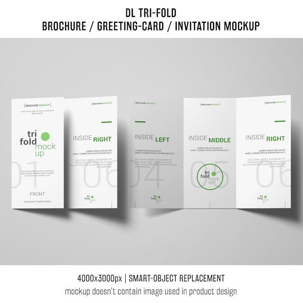 Conception de brochure ou d'invitation à trois volets Psd gratuit