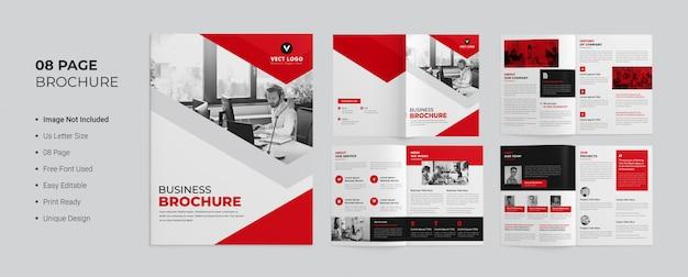 Conception De Brochures Commerciales Pages PSD Premium
