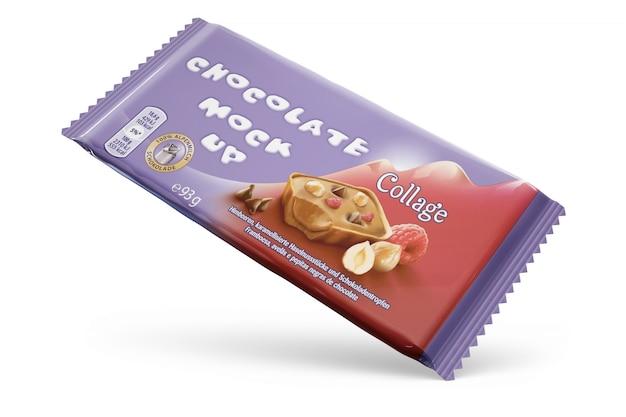 Conception D'emballage De Chocolat Psd gratuit