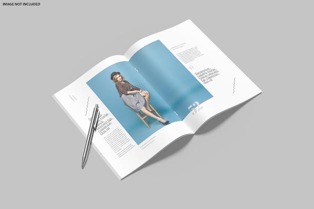 Conception De Maquette De Brochure à Deux Volets PSD Premium