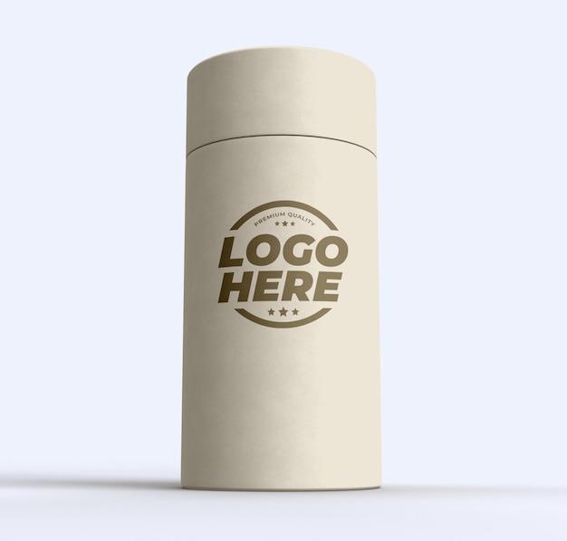 Conception De Maquette De Cylindre De Tube De Papier Isolée PSD Premium