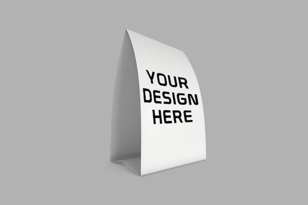Conception De Maquette D'exposition De Table En Papier PSD Premium