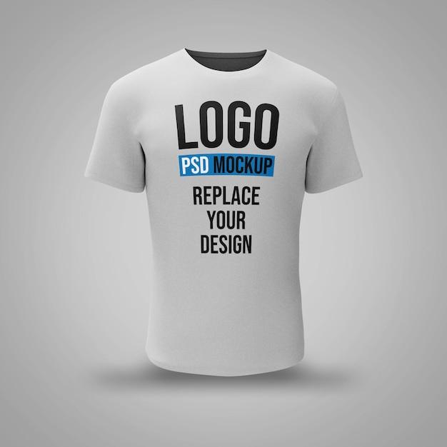 Conception De Maquette De Rendu 3d De T-shirt PSD Premium