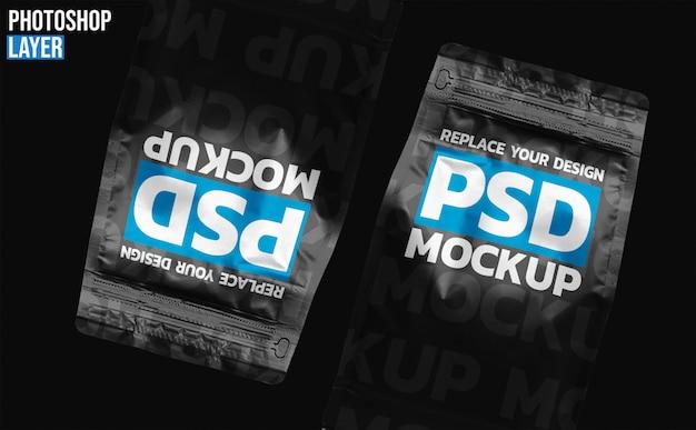 Conception De Maquette De Sac De Café En Papier PSD Premium