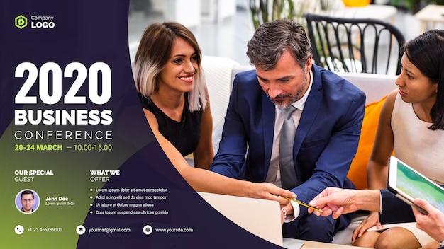 Conférence De Travail Réunion D'affaires 2020 Psd gratuit