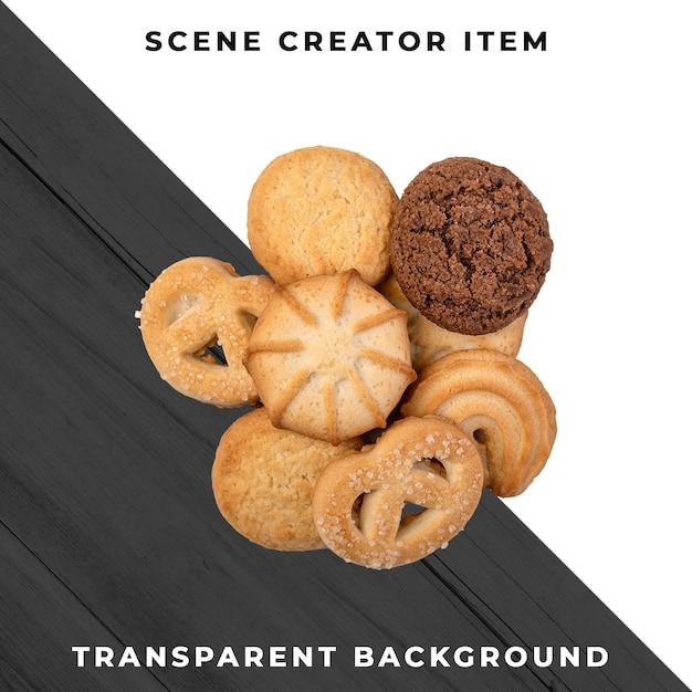 Cookies Psd Transparent PSD Premium