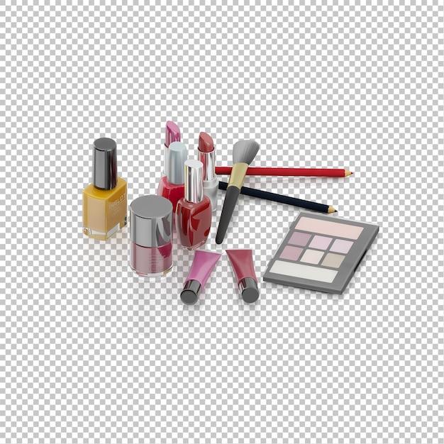 Cosmétique isométrique PSD Premium