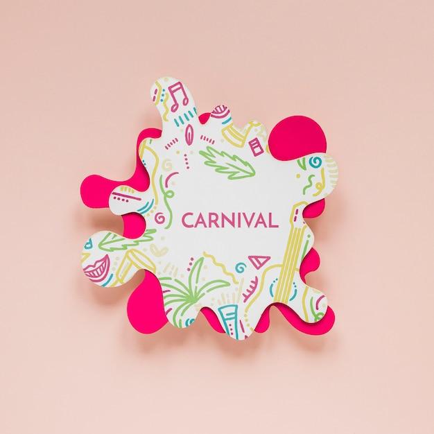 Découpe De Carnaval Brésilien Psd gratuit