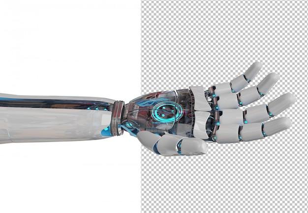 Découpez La Main Du Robot Ouvert PSD Premium