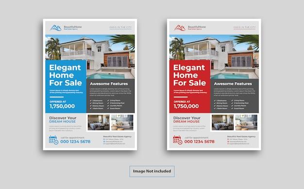 Dépliant Immobilier PSD Premium