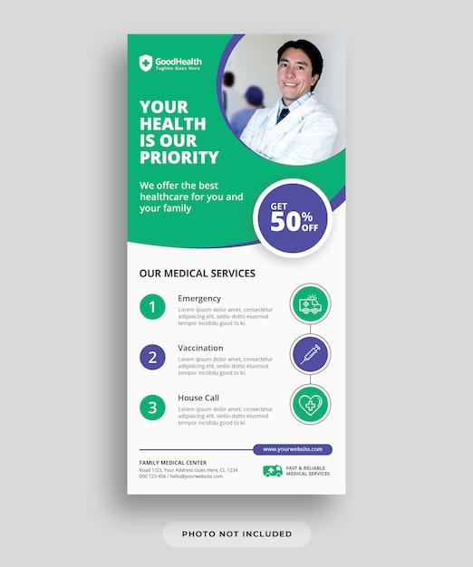 Dépliant Médical Et Santé PSD Premium