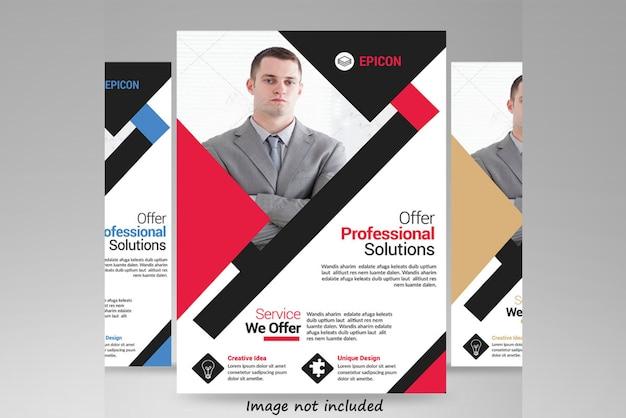 Dépliant professionnel PSD Premium
