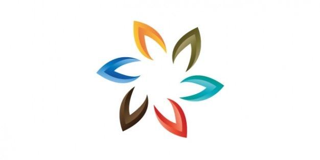 Design Coloré Marque De Logo Psd gratuit