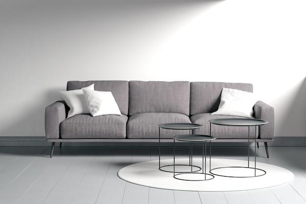 Design Intérieur Moderne Du Salon Psd gratuit