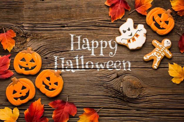 Douce fête d'halloween Psd gratuit