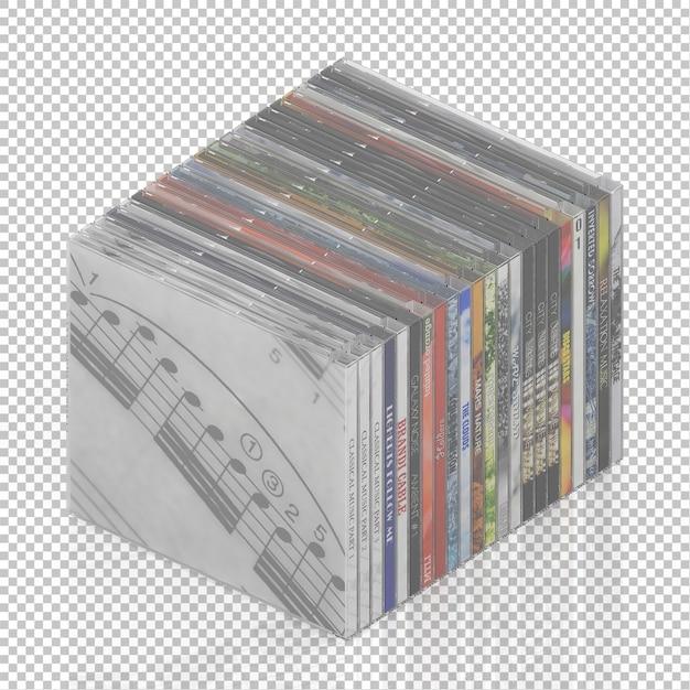 Dvd cd isométrique PSD Premium
