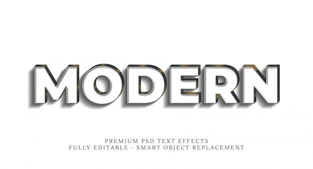 Effet De Style De Texte Moderne, Effets De Texte Premium PSD Premium