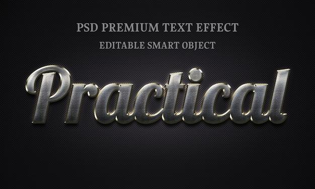 Effet De Texte Pratique Portrait De Belle Femme PSD Premium