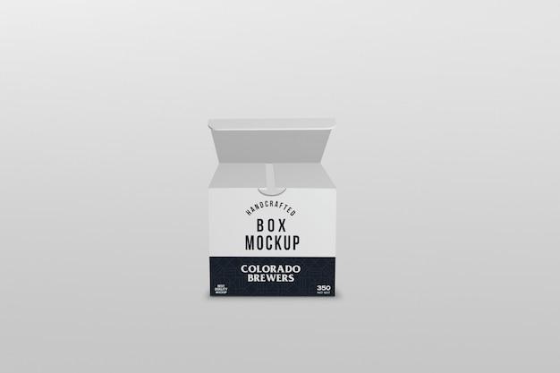 Emballage de boîte carrée PSD Premium