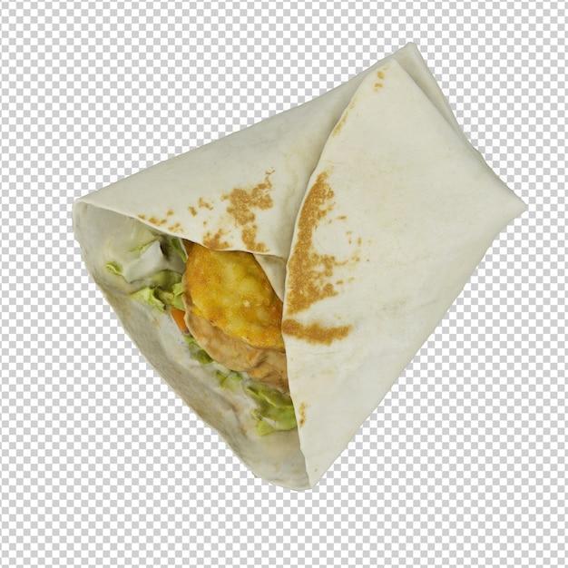 Fast food isométrique PSD Premium