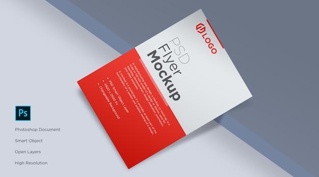 Flyer Et Maquette D'affiche Sur La Conception De Bord De Table PSD Premium