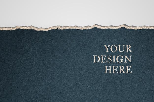 Fond de conception de maquette en papier Psd gratuit