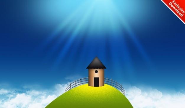 Fond D Ecran Panoramique Magnifique Pour Votre Ipad Bureau Iphone Psd Inclus Psd Gratuite