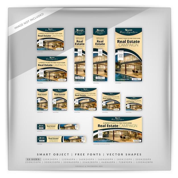 Fontaine immobilier google & facebook ads PSD Premium