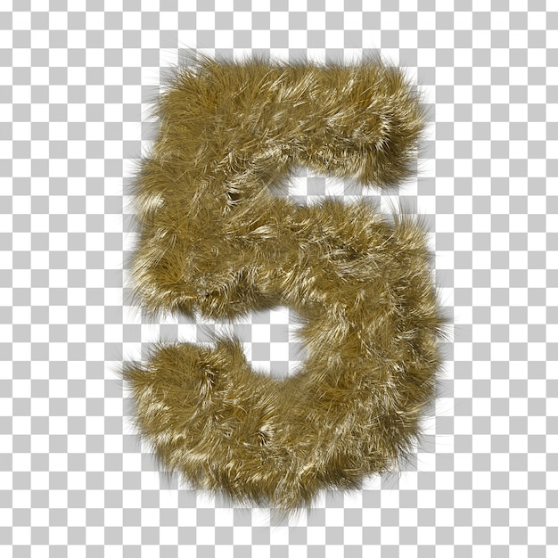 Fourrure Blonde Numéro 5 PSD Premium