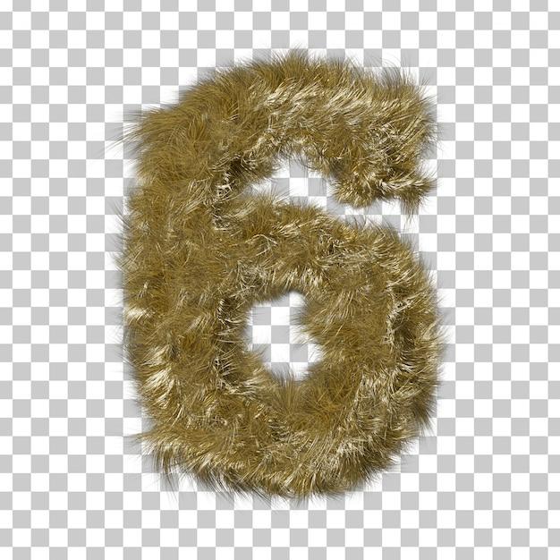 Fourrure Blonde Numéro 6 PSD Premium