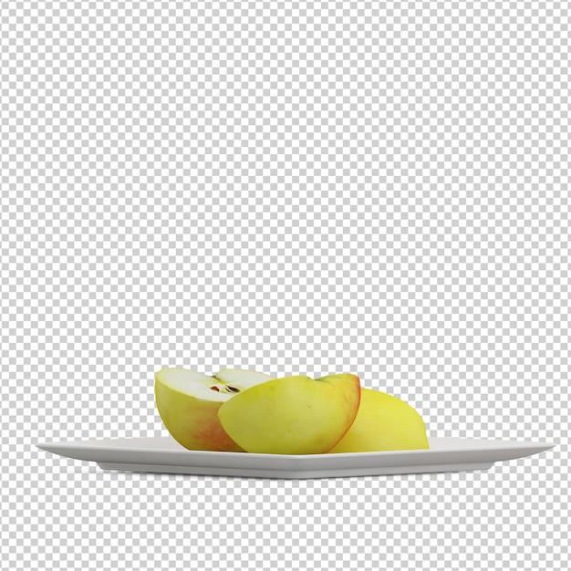 Fruit isométrique PSD Premium