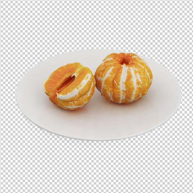 Fruits Isométriques PSD Premium