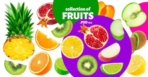 Fruits Tropicaux PSD Premium