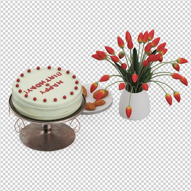 Gâteau Isométrique PSD Premium