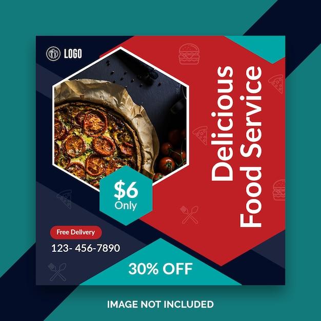 Histoires De Nourriture Instagram PSD Premium