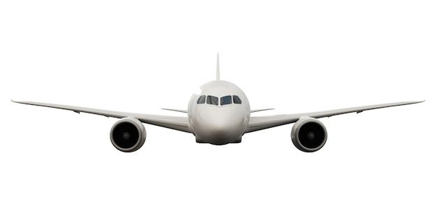 Image en trois dimensions d'un avion PSD Premium