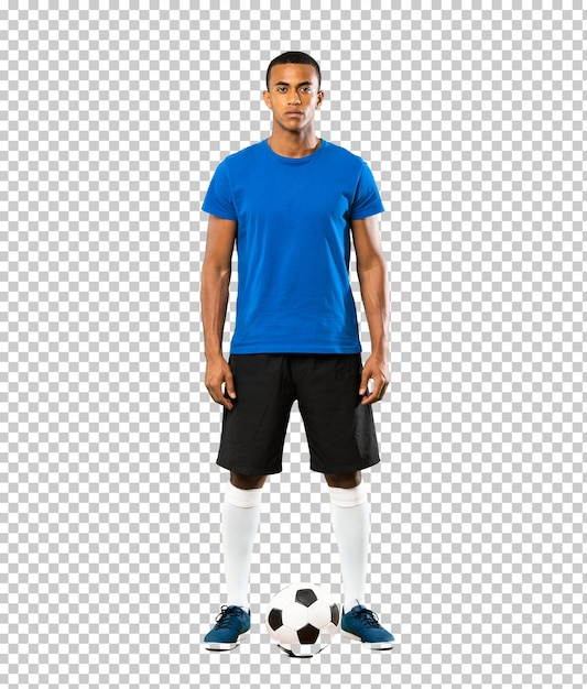 Joueur De Football Afro-américain PSD Premium