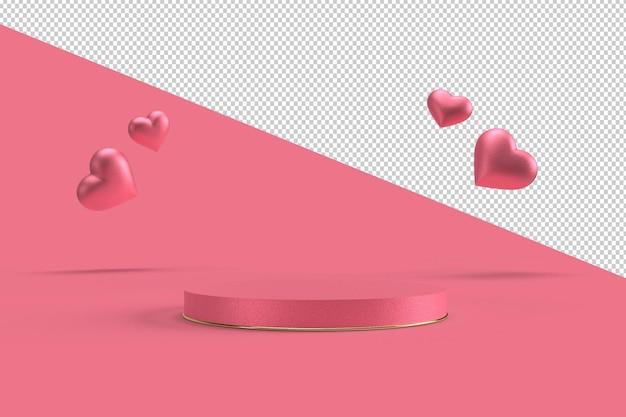 Joyeuse Saint-valentin En Rendu 3d PSD Premium