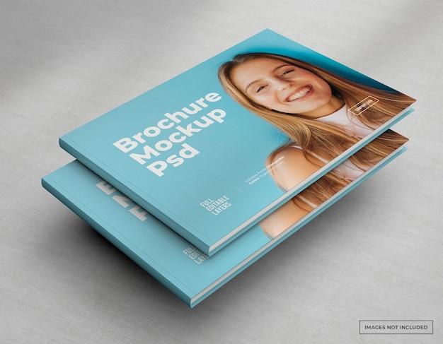 Large Catalogue De Maquette De Brochure, Couverture De Magazine Et De Livret PSD Premium