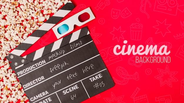 Lunettes 3d Pour Le Cinéma Psd gratuit