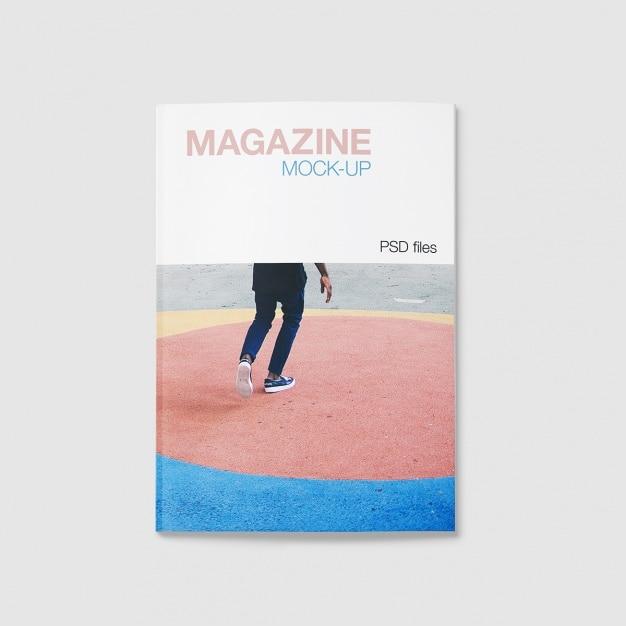 Magazine Maquette Conception Psd gratuit