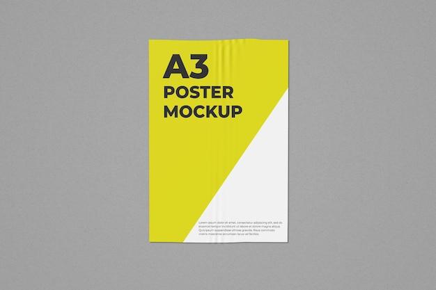 Une Maquette D'affiche A3 PSD Premium
