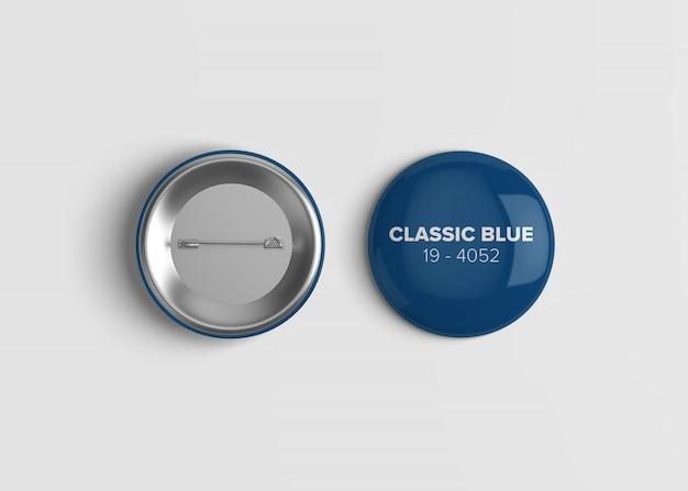 Maquette badge bouton PSD Premium