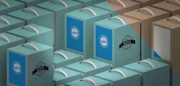 Maquette De Boîte D'emballage Psd gratuit